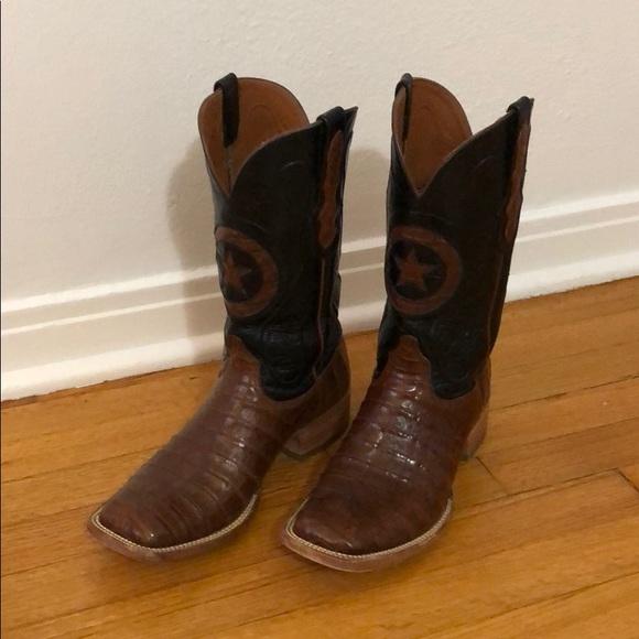 4cecd2c3595 Black Jack Alligator Boots